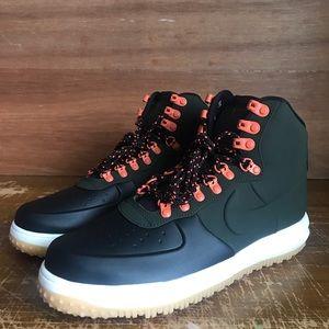 Nike Lunar Force 1 Duckboot 18 Black Sequioa